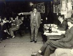 V. Meyerhold, répétition avec des acteurs (ca 1930)