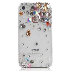 iPhone / iphone Crystal case. This would probably get annoying after awhile, but it's just so pretty.