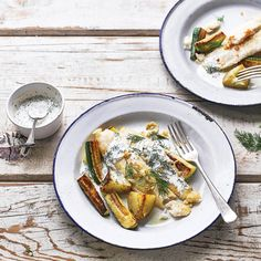 Dill & Courgette Fish