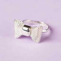 Rebecca Jewelry Bow-tie-ful Ring on sneakpeeq