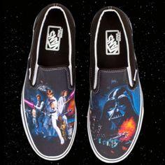 Star Wars and Vans! Both Loves!!