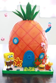 Spongebob's House ~ I might have a better shot at this one.