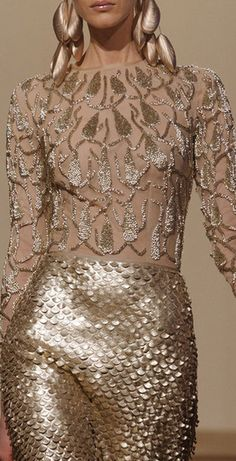Oscar Carvallo at Couture Spring 2013.    I would never wear this but it is so intoxicatingly gorgeous!
