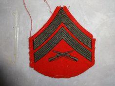 Vietnam Era US Marine Corporal Infantry Patch