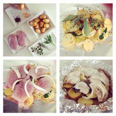 Zapečená kuřecí prsa s bramborem jsou skvělé jako oběd nebo večeře.