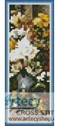 Grand Bouquet of Flowers Bookmark Counted Cross Stitch Pattern http://www.artecyshop.com/index.php?main_page=product_info&cPath=74_81&products_id=996