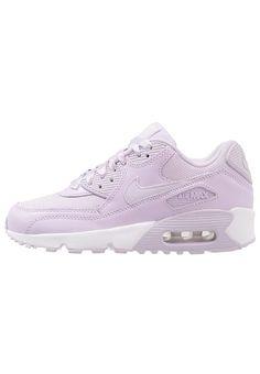 Nike Sportswear AIR MAX 90 SE MESH (GS) - Baskets basses - violet mist/white - ZALANDO.FR