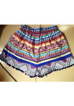 Fashion Frenzzie - Tribal Dolphin Shorts, $27.00 (http://www.fashionfrenzzie.com/vintage-inspired-dolphin-shorts/)