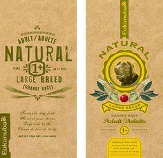 iams natural dog food packaging