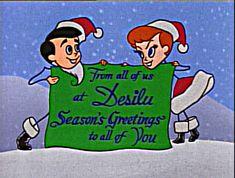 Holiday Greetings from Desilu Studios