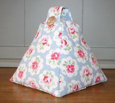Handmade Fabric Doorstop Door stop in Cath Kidston Provence Rose Fabric £13.95