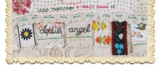 """dottie angel, """"ordinarily extraordinary"""" patchwork crochet blanket without doing separate squares! Crochet Projects, Sewing Projects, Dottie Angel, Stool Covers, Heart Garland, Granny Chic, 1st Day, Easy Peasy, Needlework"""