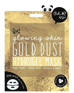 Add a sparkling touch to your beauty regime with the Oh K! Inspired by the love for Korean cosmetics, this hydrogel face shaped mask contains gold dust elements to rejuvenate skin and leave you with a goddess glow. Gel Face Mask, Face Masks, Best Masks, 25th Birthday, Sheet Mask, Mask Making, Face Shapes, Glowing Skin, Make It Yourself