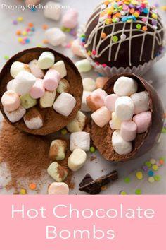 Chocolate Milk Powder, Chocolate Bomb, Chocolate Orange, Chocolate Molds, How To Make Chocolate, Melting Chocolate, Chocolate Decorations, Candy Melts, Yummy Drinks