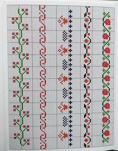 Made A Mano, Yarn Bracelets, Christmas Cross, Cross Stitch Designs, Cross Stitching, Embroidery, Holiday Decor, Crochet, Handmade