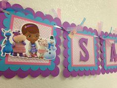 NEW STYLE Doc McStuffins Banner Doc McStuffins by LisasPartyShoppe