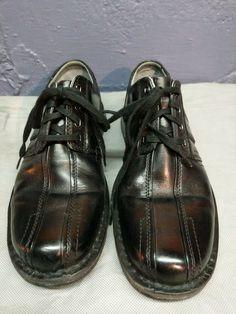 4253285a69ec9b Clarks Mens Touareg Black Leather Comfort Oxford Shoes-Bicyle Toe-70851  Size 10M
