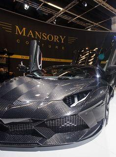 #Lamborghini Carbonado par  Mansory ! À voir absolument !