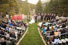 Outdoor wedding from rusticweddingchic.com