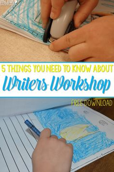 There are WAY more than 5 things you need to know about writers workshop. But I hope this will get you started! We will start with the routines of kindergarten writing and some of the best practices that are out there.