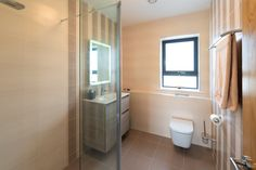 The site Keith and Romina McGreal chose to build on required an Environmental Impact Statement to secure planning permission. County Mayo, Bungalow House Design, Planning Permission, Toilet, Bathtub, Building, Ireland, Ideas, Standing Bath