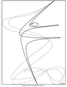 S.Mac's Abstract Coloring Page