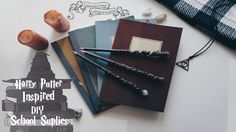 Harry Potter Inspired DIY School Supplies