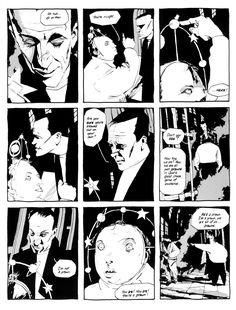 "Dave McKean's ""Cages""."