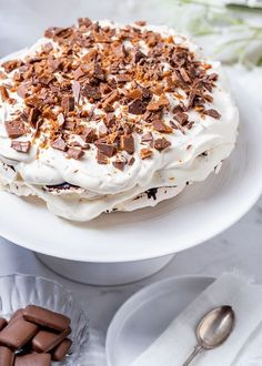 Custard Desserts, Cookie Desserts, Dessert Recipes, Swedish Recipes, Sweet Recipes, Bougatsa Recipe, Happy Foods, Pavlova, No Bake Cake