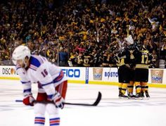 Bruins Defeat Rangers 3-1, Play Penguins in Conference Finals