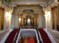 The Art Museum of Craiova is located in Jean Mihail palace - built in late XIX century ♦ . More pictures and informations HERE ♦ Romanian People, View Image, Art Museum, Palace, Europe, Culture, Architecture, Jean, Building