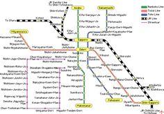 El metro de Sapporo  (Sapporo-shiei-chikatetsu) es el cuarto metro de Japón. Se inauguró en 1971, a tiempo para los Juegos Olimpicos de invierno de 1972. Fue el primero en el mundo en utilizar un carril central de guía junto a las ruedas de neumático, sistema que lo convierte en el metro más silencioso y limpio del mundo. Está operado por la Sapporo City Bureau.