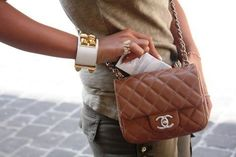 Chanel cross body bags = love