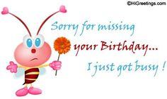 Happy Belated Birthday Brother http://www.happybirthdaywishesonline.com/