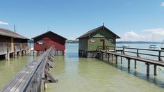 Two little house. Ammersee.