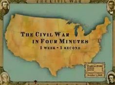 US History Teachers Blog: Civil War in Four Minutes