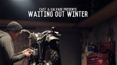 WAITING OUT WINTER by Andrew David Watson. A homage to all craftspeople who spend their winters tucked inside their workshops waiting for better weather. From Cast & Salvage. Fill The Frame, Better Weather, Working Man, Inspirational Videos, My Canvas, Way Of Life, Short Film, Storytelling, How To Look Better