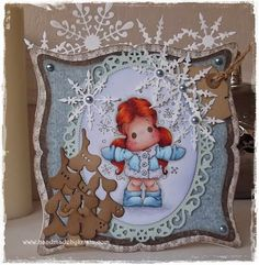 Handmade by Krista Magnolia Stamps, Cosy, Cards, Handmade, Hand Made, Map, Playing Cards, Maps
