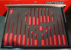 tool chest foam inserts - Google Search