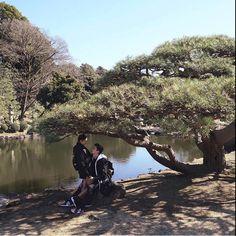 Shinjuku Gyoen, Jadine, I Need You, Things I Want, Mountains, Photo And Video, Instagram Posts, Travel, Nadine Lustre