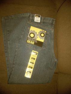 Men's Jeans Gravel Gear Size 30 X 32