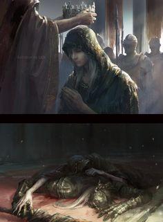 — gamiing-art: Dark Souls by JLien Arte Dark Souls, Dark Souls 2, Dark Fantasy Art, Dark Art, Character Inspiration, Character Art, Soul Saga, Bloodborne Art, Praise The Sun