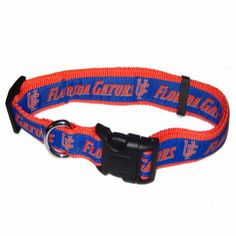 Officially licensed Florida Gators Dog Collar!