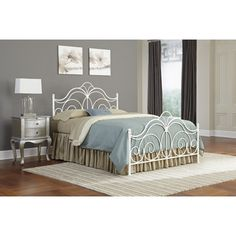 FREE SHIPPING! Shop Wayfair for Fashion Bed Group Rhapsody Metal Headboard - Great Deals on all Furniture products with the best selection to choose from!