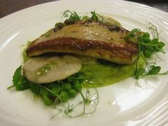Pan seared John Dory, mussel ravoli