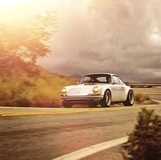 Retro-cool Porsche.