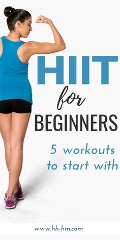 5 HIIT workouts for beginners to start with! Whether you work out at home or at … 5 HIIT workouts for beginners to start with! Whether you work out at home or at the gym these exercise routines will help… Continue Reading → Hitt Workout, Hiit Workout At Home, At Home Workouts, Body Workouts, Fitness Exercises, Workout Diet, Interval Training Workouts, Workout Plans, Home Hiit