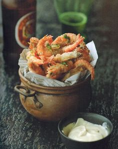Salt & Pepper Shrimp Recipe | Red Lantern