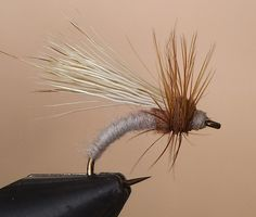 This is what happens when you combine a Klinkhamer with an elk hair caddis.  I'd fish it.  (The Drake)