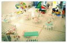 Festa de Aniversário -  Infantil com tema Sorvete